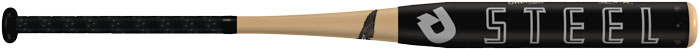 2014-White-Steel-Softball-Bat
